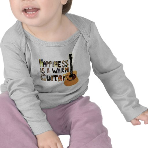 Happiness is a Warm Guitar Tees