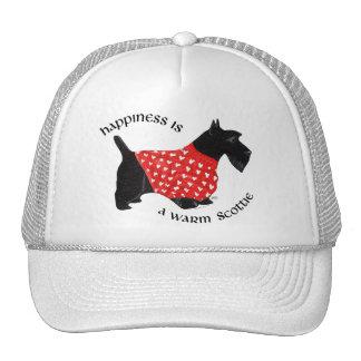Happiness is a Warm Scottie Trucker Hat
