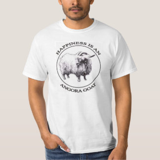 Happiness is an Angora Goat T-Shirt