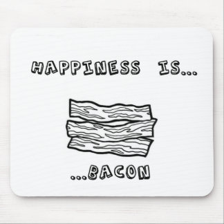 Happiness is Bacon Mouse Pad