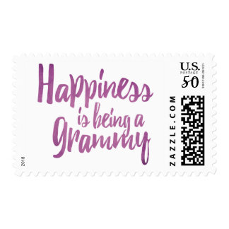 Happiness is being a Grammy Postage