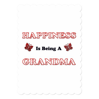 Happiness Is Being A Grandma Card