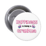 Happiness Is Being A Grandma Pins