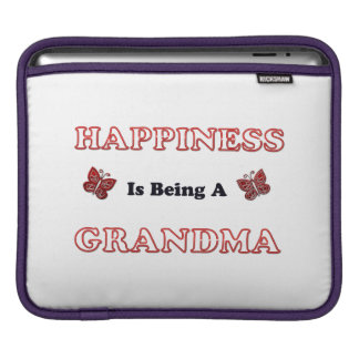 Happiness Is Being A Grandma Sleeve For iPads