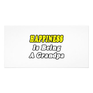 Happiness Is Being a Grandpa Photo Cards