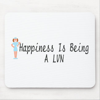 Happiness Is Being A LVN Mouse Pad