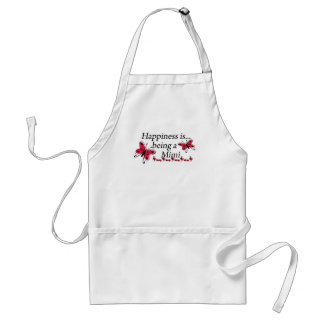 Happiness Is Being A Mimi BUTTERFLY Aprons