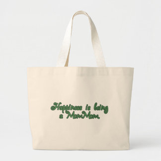 Happiness is being a MomMom Jumbo Tote Bag