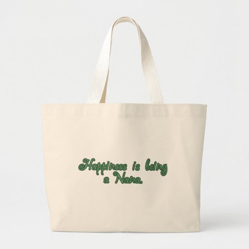 Happiness is being a Nana Jumbo Tote Bag