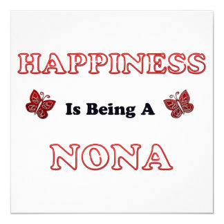 Happiness Is Being A Nona Card