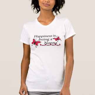 Happiness Is Being A Nonna BUTTERFLY T-Shirt