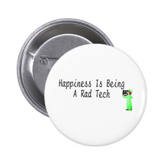 Happiness Is Being A Rad Tech Pins