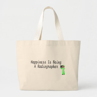 Happiness Is Being A Radiographer Jumbo Tote Bag