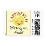 Happiness Is Being An Aunt Postage Stamps
