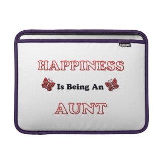Happiness Is Being An Aunt Sleeve For MacBook Air