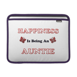 Happiness Is Being An Auntie MacBook Sleeve