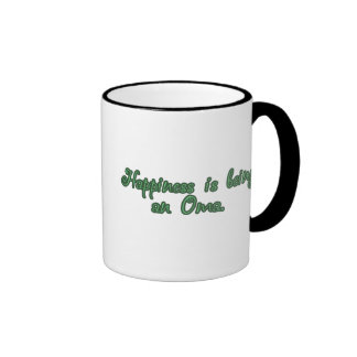 Happiness is being an Oma Mugs