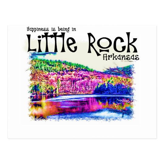 Happiness Is Being in Little Rock Postcard