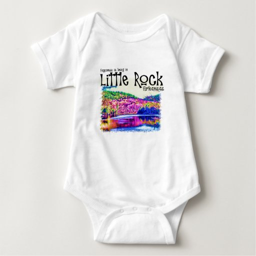 Happiness Is Being in Little Rock T-shirts