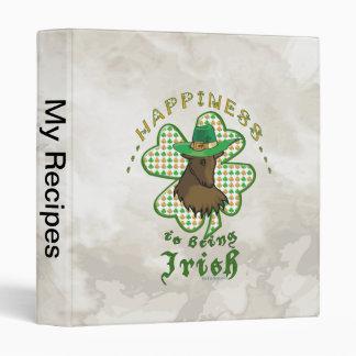 Happiness is Being Irish Binder