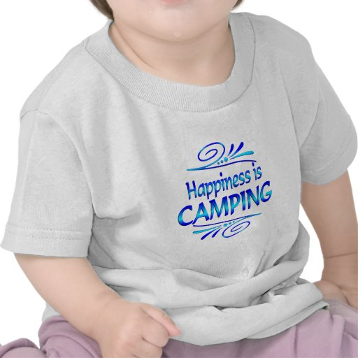 Happiness is Camping T-shirts