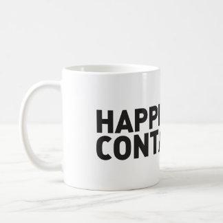Happiness is Contagious Coffee Mug