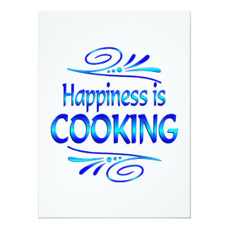 Happiness is COOKING Invitation