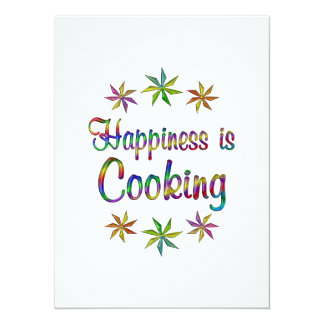 Happiness is Cooking Invite