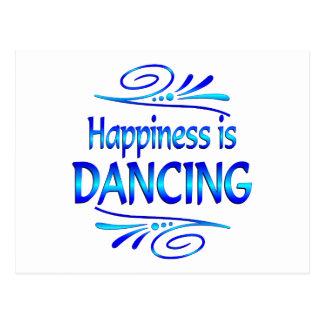 Happiness is DANCING Postcard