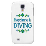 Happiness is Diving Galaxy S4 Cover