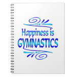 Happiness is GYMNASTICS Note Books