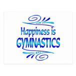 Happiness is GYMNASTICS Postcard