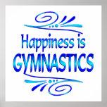 Happiness is GYMNASTICS Print