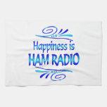 Happiness is HAM RADIO Towels