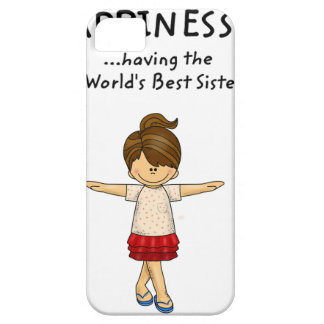 Happiness is ...Having The World's Best Sister..pn iPhone SE/5/5s Case