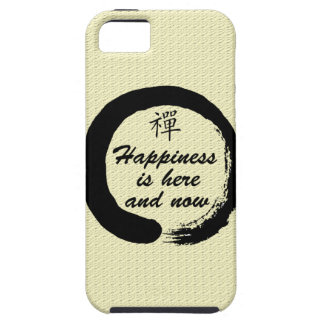 Happiness is Here and Now iPhone SE/5/5s Case