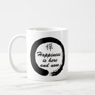 Happiness is Here and Now - Zen Coffee Mug