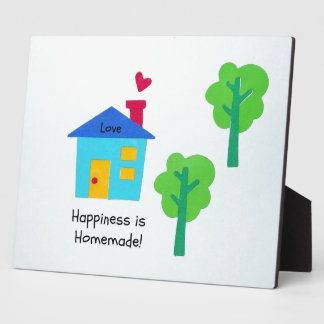 Happiness is Homemade! Photo Plaque
