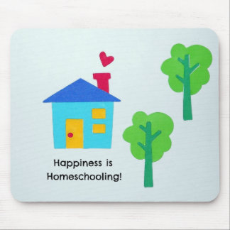 Happiness is Homeschooling! Mouse Pad