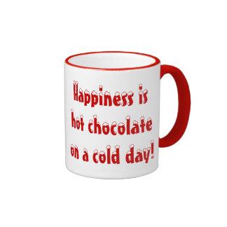 Happiness is Hot Chocolate Mug