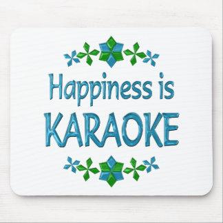 Happiness is Karaoke Mouse Pad