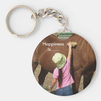 Happiness Is...... Keychain
