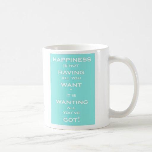 Happiness Is.......Mug -
