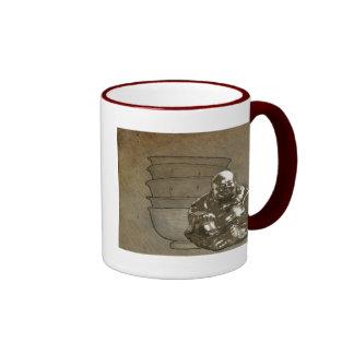 Happiness is... ringer coffee mug