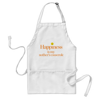 Happiness is My Mother's Casserole Adult Apron