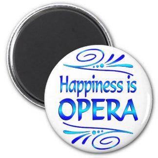 Happiness is OPERA Fridge Magnet