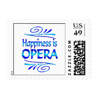 Happiness is OPERA Postage