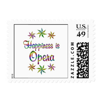 Happiness is Opera Stamp
