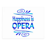 Happiness is OPERA Postcard