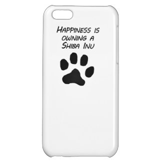Happiness Is Owning A Shiba Inu iPhone 5C Cases